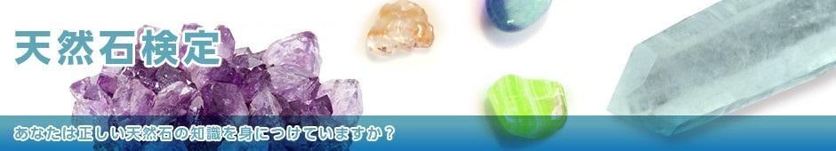 公益法人日本生涯学習協議会監修・認定天然石検定